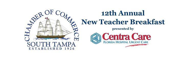 12th Annual STCOC New Teacher Welcome Breakfast