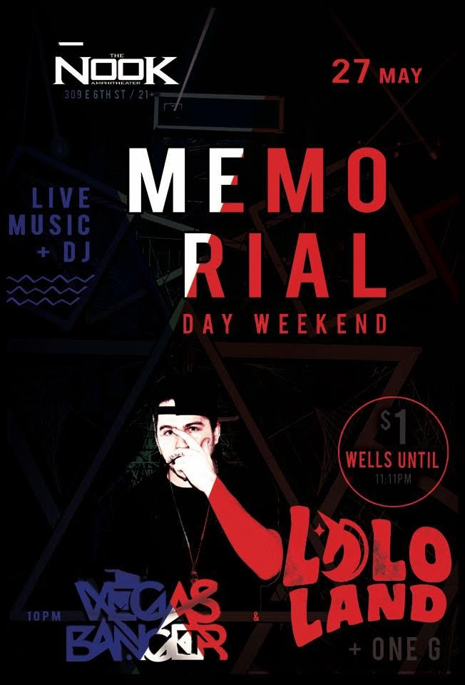 Memorial Day Weekend at Nook Amphitheater