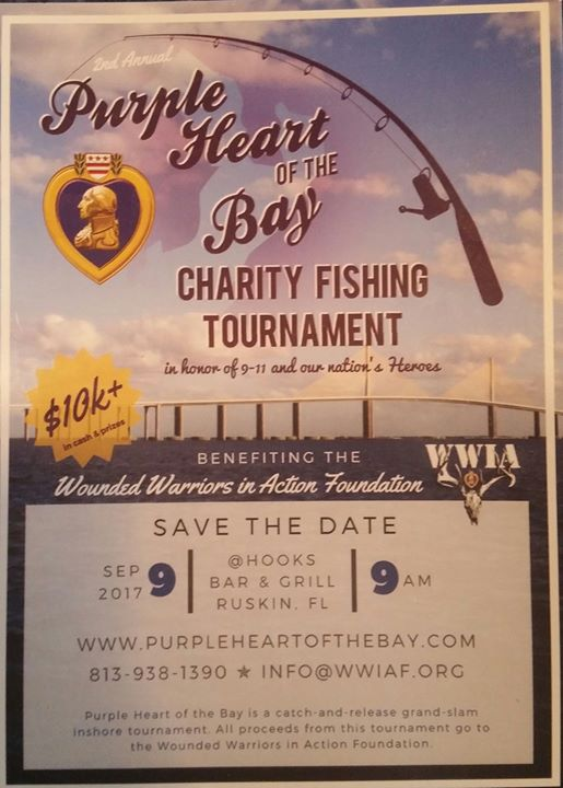 2nd Annual Purple Heart Of The Bay