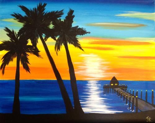 Wine & Canvas: Ocean Beach Pier