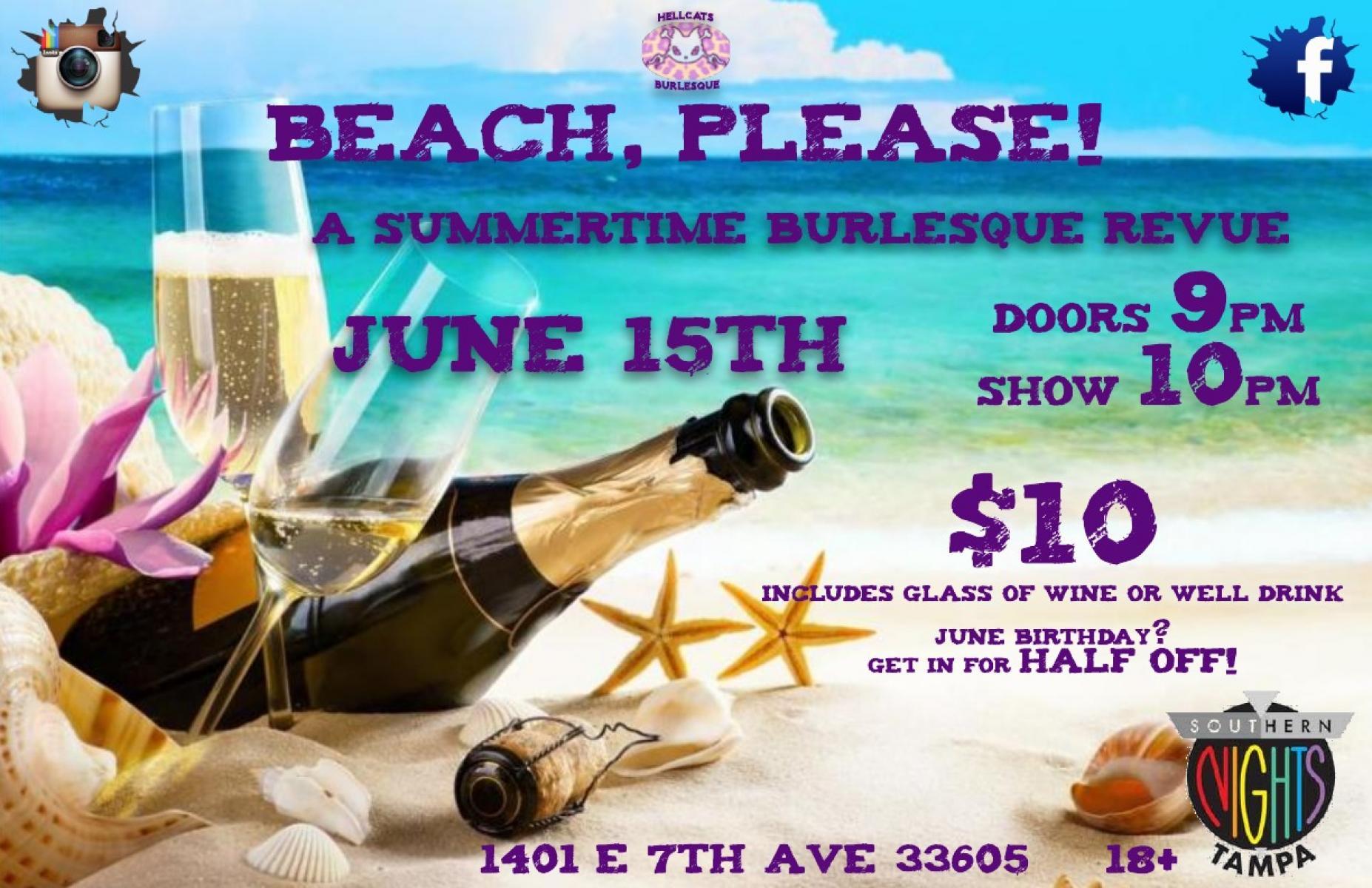 Beach, please! A Summertime Revue