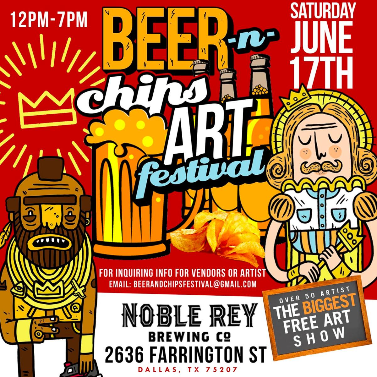 Beer and Chips Art Festival