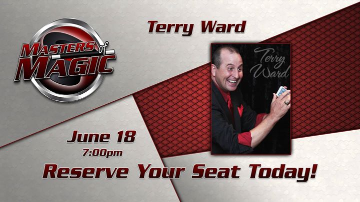 Masters of Magic present Terry Ward