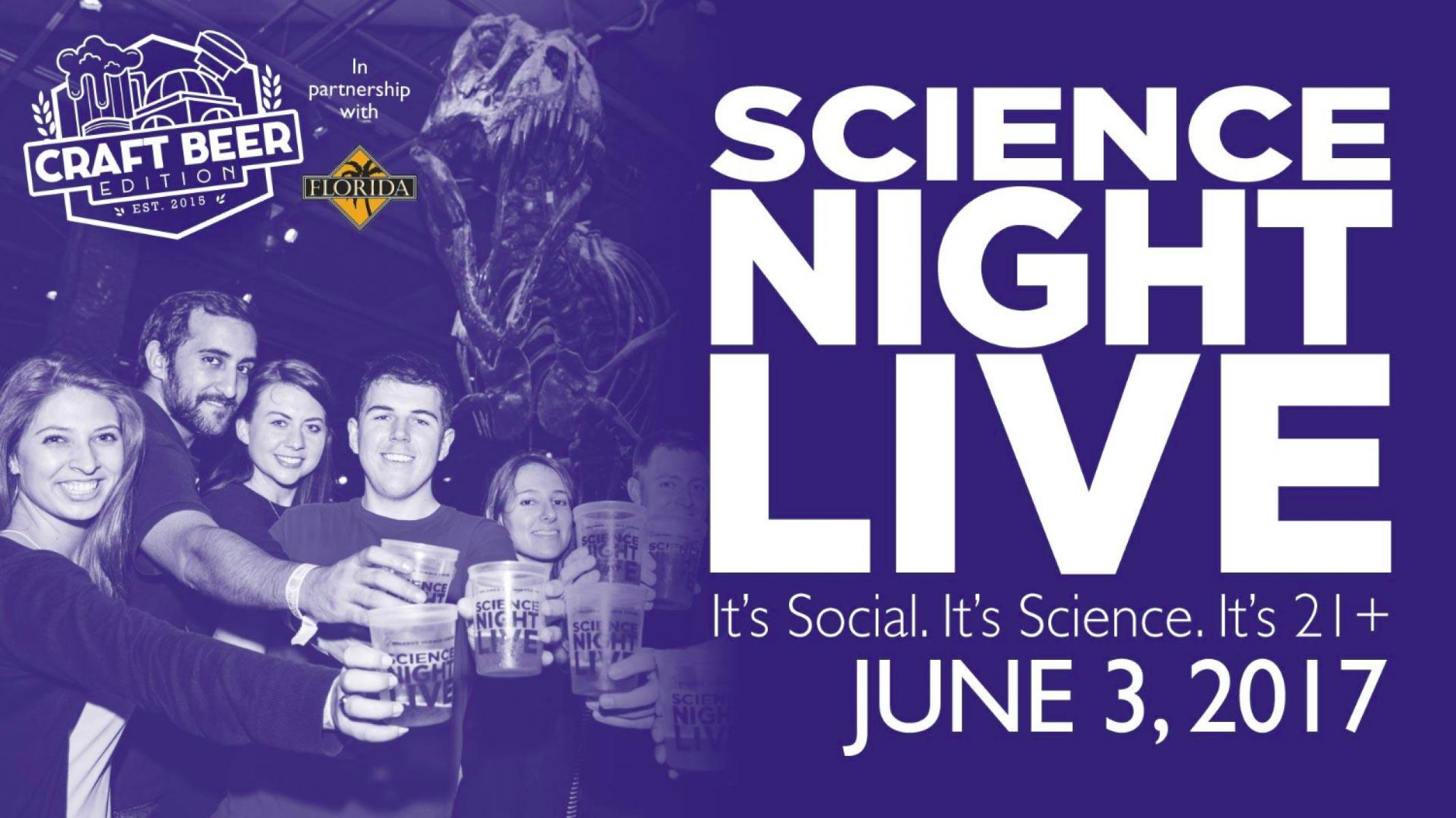 Science Night Live: Craft Beer Edition