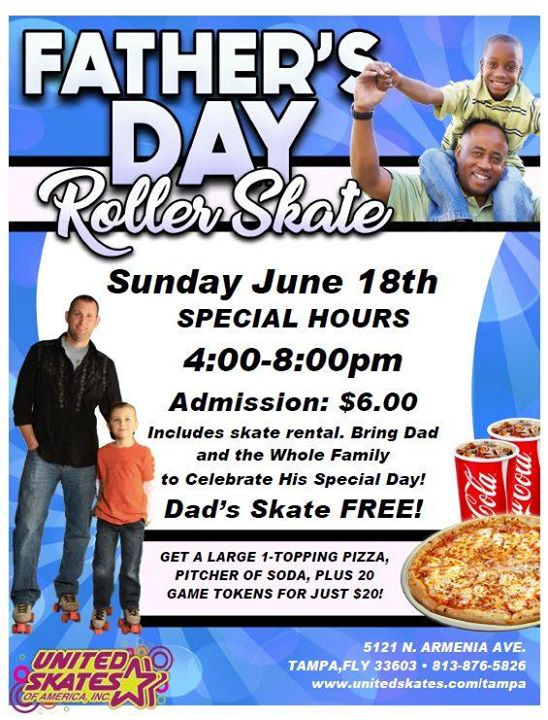 Father's Skate Free!