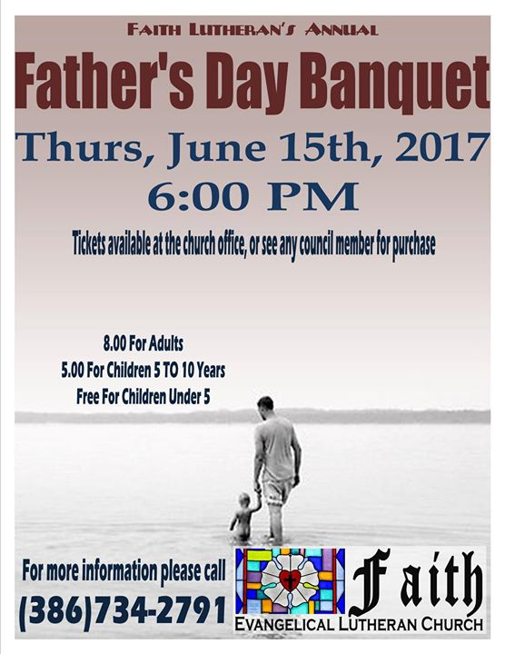 Father's Day Banquet