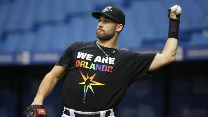 Pride Night with the Rays