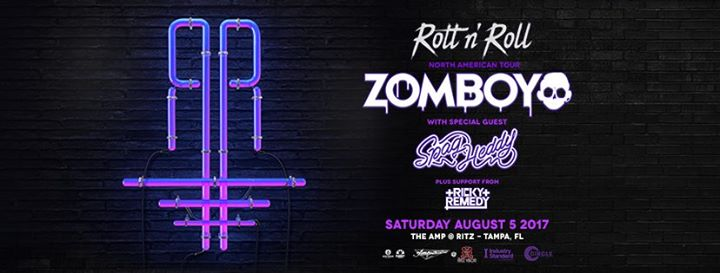 Zomboy – Rott n' Roll Tour – with Spag Heddy – Tampa, FL