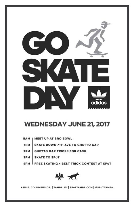 Go Skateboarding Day 2017 presented by Adidas