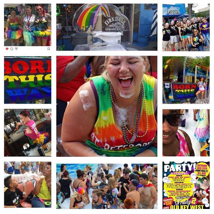 Saturday Pride Foam Party!