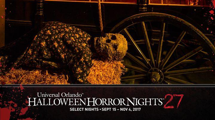 Halloween Horror Nights 27, Orlando FL - Sep 16, 2017 - 6:30 PM