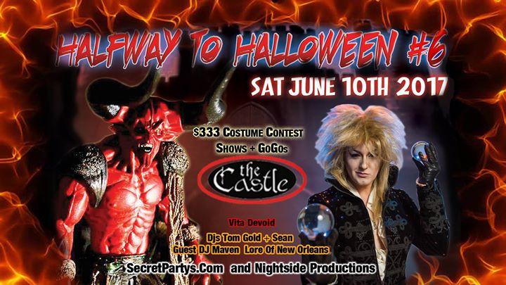 SecretPartys Halfway to Halloween #6 ~ the Castle Sat June 10th