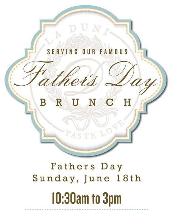 La Duni Father's Day Brunch