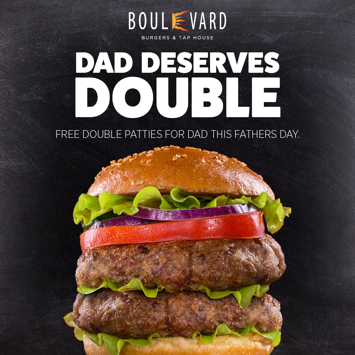 Father's Day at Boulevard Burgers