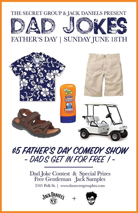 Dad Jokes: A Father's Day Comedy Show Presented by Jack Daniels