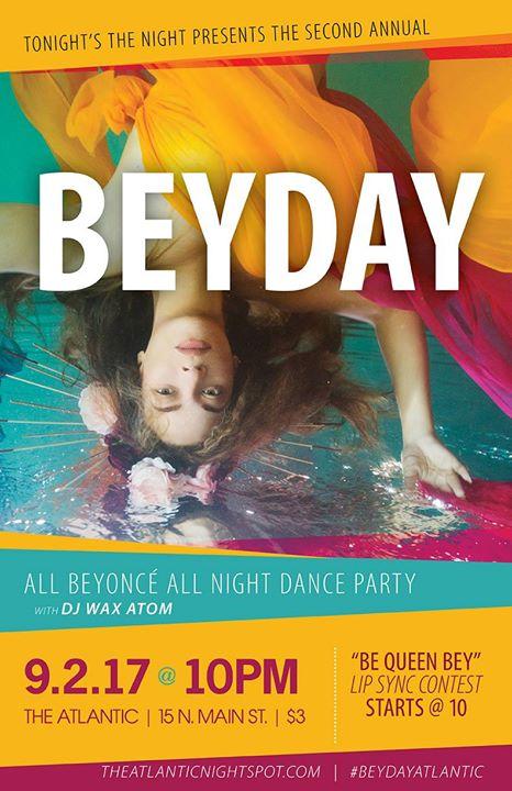 Bey Day: All Beyoncé All Night Dance Party w/ DJ Wax Atom
