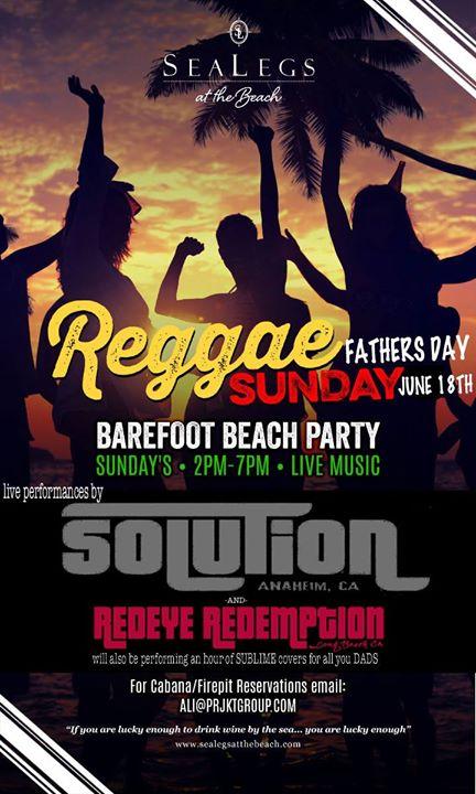 Reggae Sunday's Fathers Day
