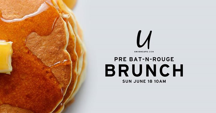 Pre Bat-n-Rouge Brunch