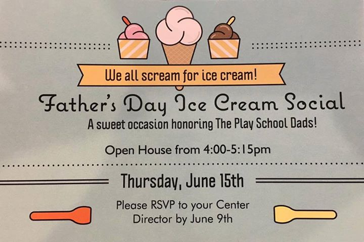 Father's Day Ice Cream Social