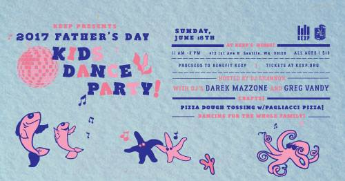 KEXP Father's Day Kids Dance Party