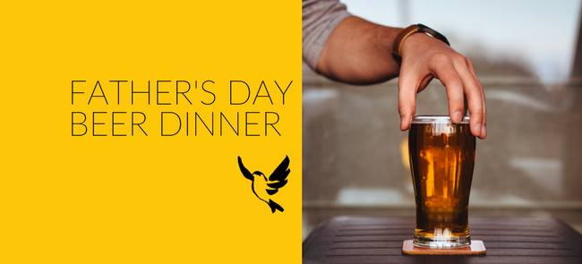 Father's Day Beer Dinner at Goldfinch Tavern