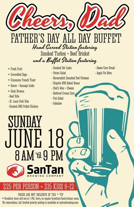 Father's Day All Day Buffet!