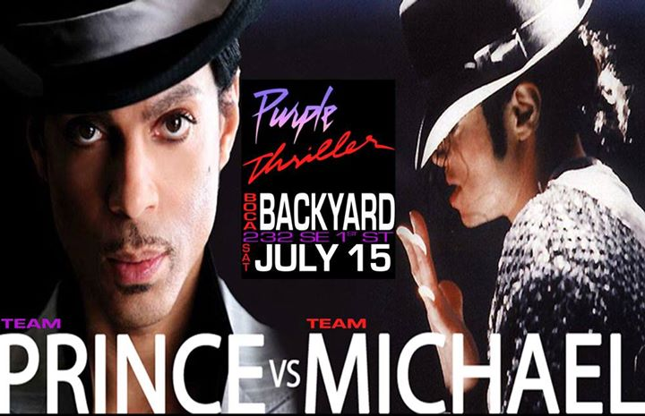 Purple Thriller: Team Prince vs Team Michael