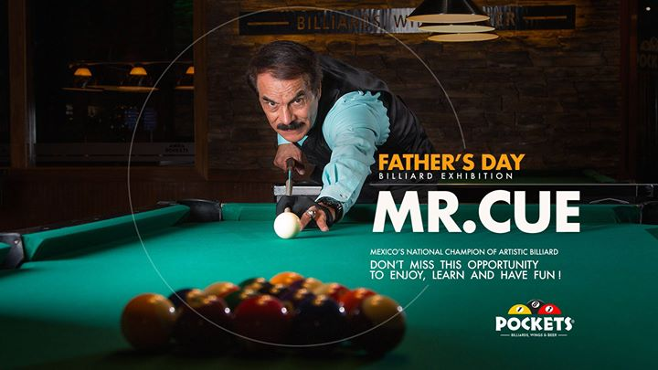 Father's Day Billiard Exhibition with Mr. CUE