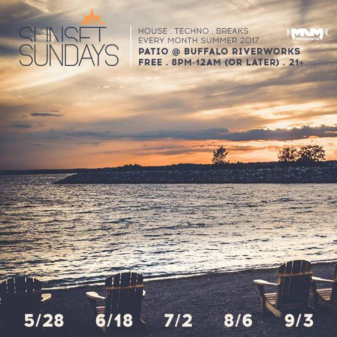Sunset Sundays : June Edition (Fathers Day) : Patio at Riverworks