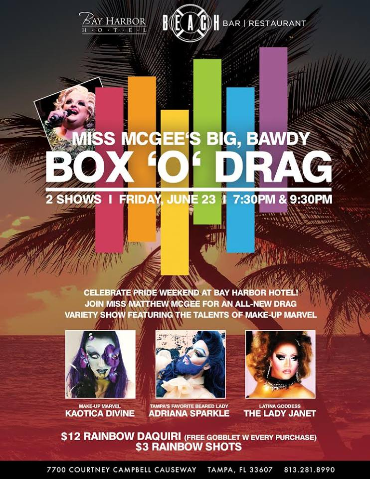 Miss McGee's Big, Bawdy Box 'o' Drag