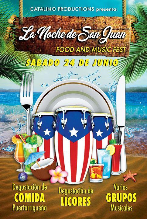 La Noche de San Juan Food and Music Fest