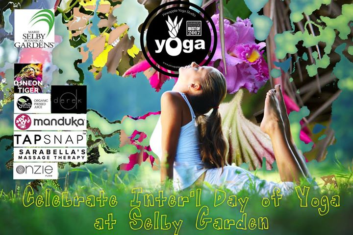 Celebrate International Yoga Day at Selby Gardens