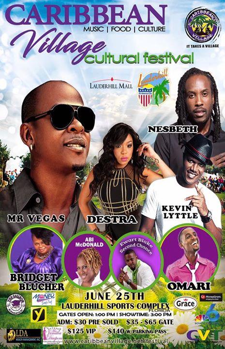 Caribbean Village Music, Arts & Food Festival 3.0