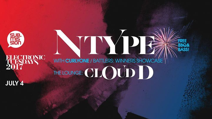 N-Type, CurlyOnE + Cloud-D lounge takeover
