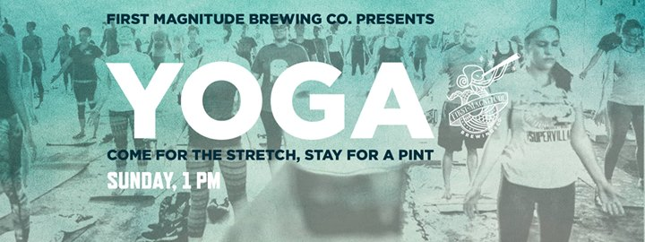 Yogalates at the Brewery