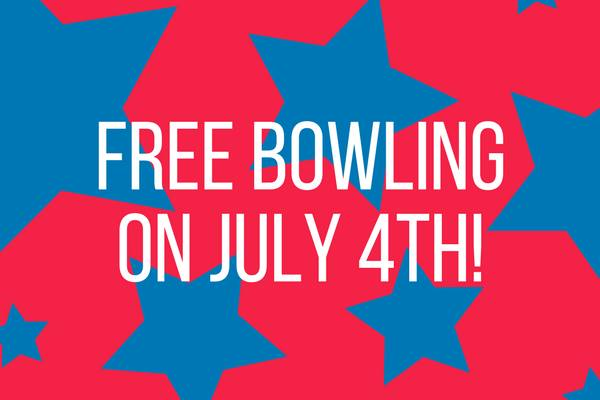 Bowl Free on July 4th!