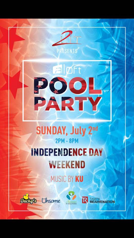 Issa 2Lit Pool Party at Aloft Downtown Tampa