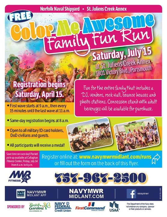 Color Me Awesome: Family Fun Run