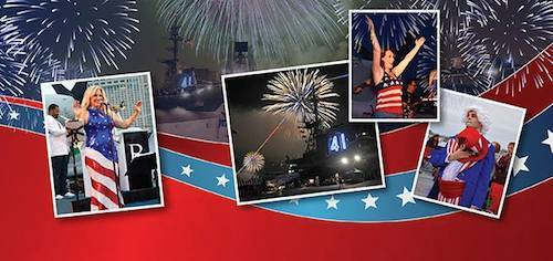 4th of July Celebration: Aboard the USS Midway (SOLD OUT)