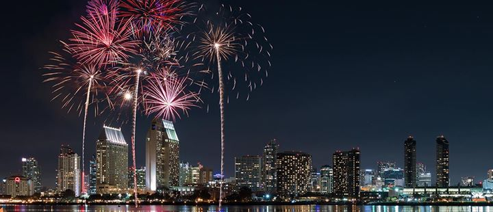 Over the Top 4th of July Fireworks Celebration