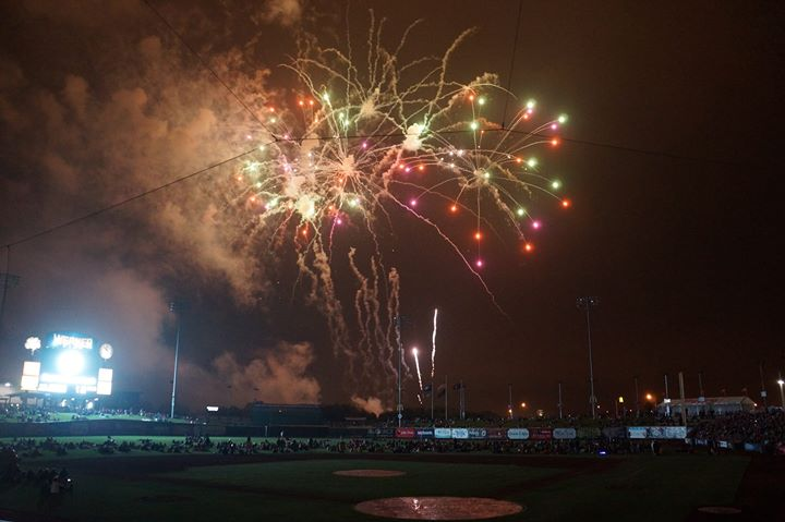 Omaha Storm Chasers Independence Day Game