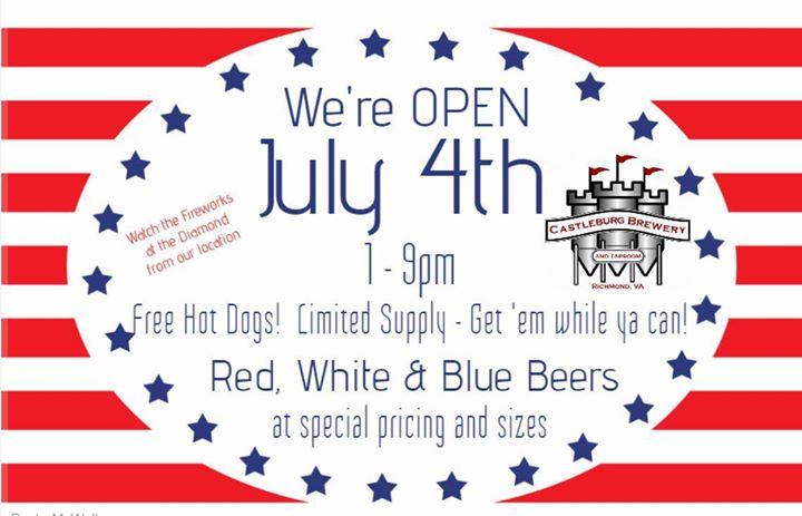 July 4th at Castleburg Brewery