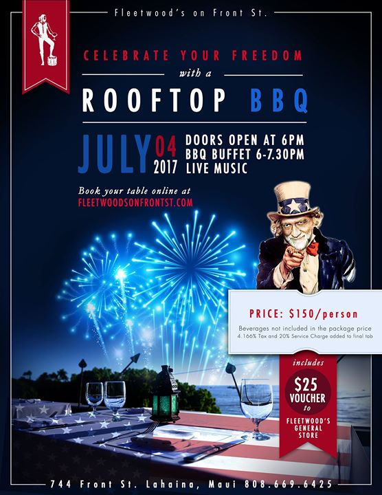 4th of July Rooftop BBQ!
