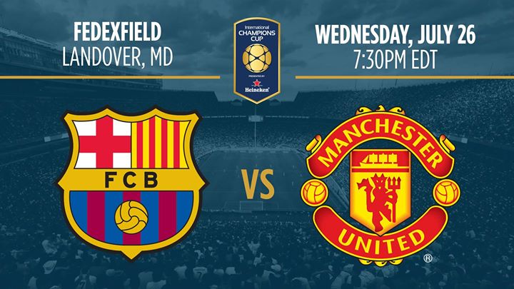 Intl.Champions Cup pres. by Heineken: FC Barcelona v Manchester United