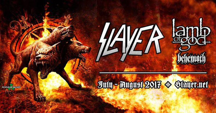 Slayer, Lamb of God, Behemoth at Express Live!