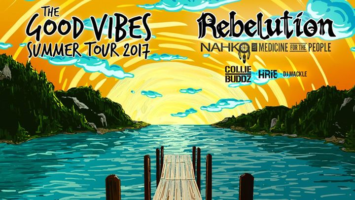 Rebelution live in Raleigh, NC - Good Vibes Summer Tour 2017