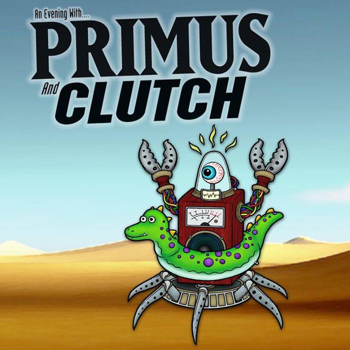Primus and Clutch Live in Portland