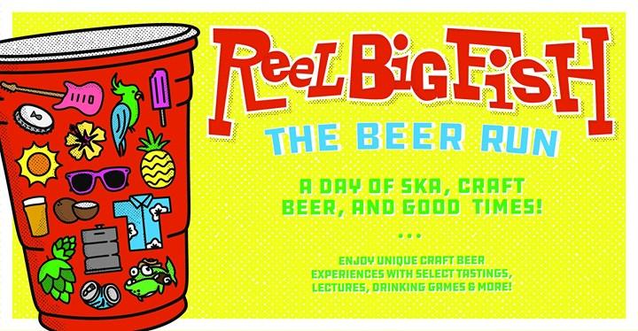 Reel big fish the beer run colorado springs co jul 11 for Concrete craft colorado springs
