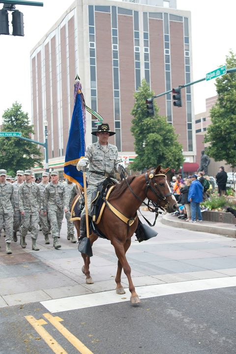 77th Annual Pikes Peak Or Bust Rodeo Parade Colorado