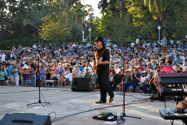SantanaWays at Balboa Concerts In The Park